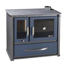 Ενεργειακή σόμπα ξύλου απο ατσάλι με φούρνο SYRIOS ALEA KS-2000A 11,5 kW