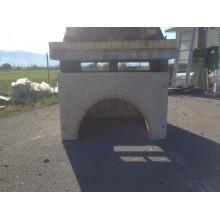 Ξυλαποθήκη για φούρνο μεγάλο