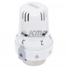 Θερμοστατική κεφαλή ICMA ART 988 με αισθητήρα κεριού