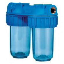 """Φίλτρο νερού ATLAS Junior Duplex 3P 3/4"""" 24,1 cm"""