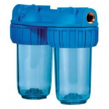 """Φίλτρο νερού ATLAS Senior Duplex 3P 3/4"""" 31,5 cm"""