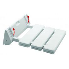 Βάση στήριξης - κάθσιαμα ντούζ λευκό SCABETO 34x34