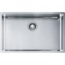 Νεροχύτης ανοξείδωτος FRANKE BOX BBX 210-68/110-68 σατινέ 72,5x45