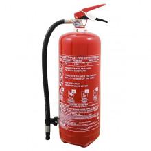 Πυροσβεστήρας 6kg ξηράς σκόνης με μεταλλική βάση