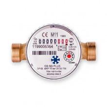 """Υδρόμετρο απλής ριπής MADDALENA CD SD PLUS 1/2"""" ξηρού τύπου ζεστού νερού"""