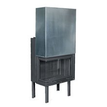 Ενεργειακό τζάκι υδραυλικό THERMIKI ATS 80 HYDRO γωνιακό 27,18 kW 85 cm (Σε 12 άτοκες δόσεις)